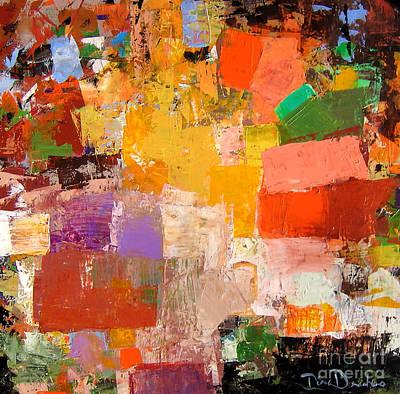 Painting - Festivity by Diane Desrochers