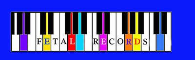 Painting - Fetal Records Logo by Joe Dagher
