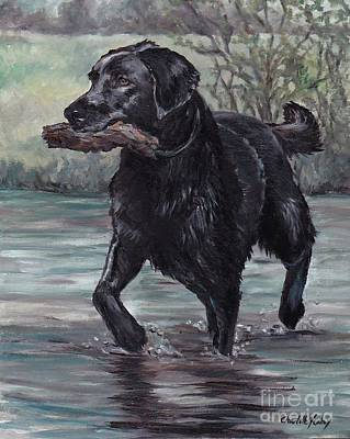 Painting - Fetch by Charlotte Yealey