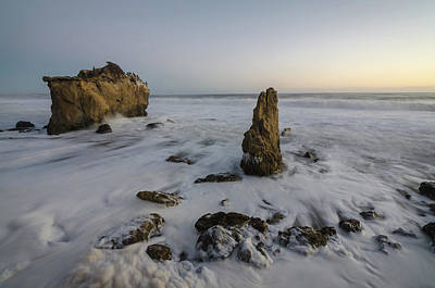 Photograph - Malibu Monoliths by Margaret Pitcher