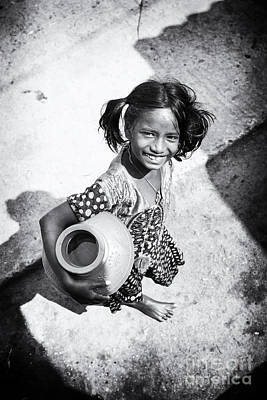 Water Street Photograph - Fetching The Water by Tim Gainey