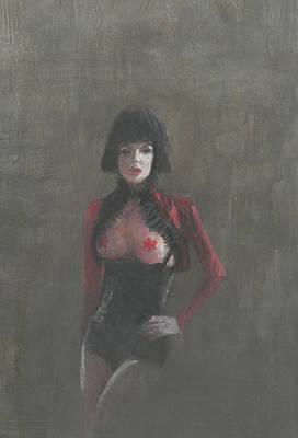 Fetish Artist Art Print by Lincoln Seligman