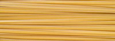 Fettuccine Pasta Art Print by Steve Gadomski