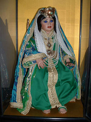Moroccan Mixed Media - Fez Bride by Patricia Rachidi
