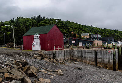 Halls Harbour Photograph - Hall's Harbour by Irena Kazatsker