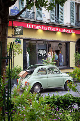 Photograph - Fiat 500 by Brian Jannsen