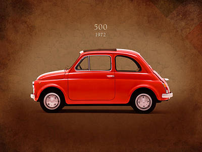 1972 Photograph - Fiat 500 R 1972 by Mark Rogan