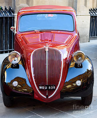 Photograph - Fiat 500 Topolino 1937 by Colin Rayner