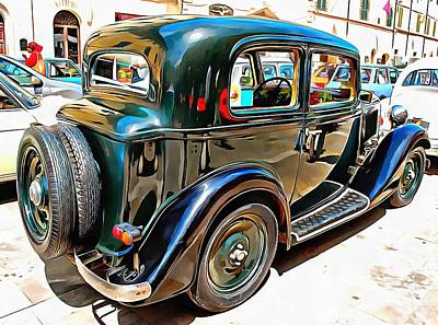 Photograph - Fiat 508 Balila by Dorothy Berry-Lound