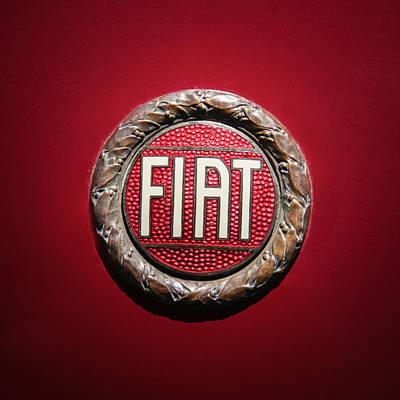 Fiat Emblem -1621c Art Print by Jill Reger
