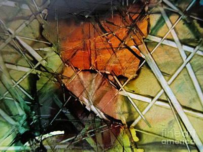 Fiber Art Print by Susan Parsley
