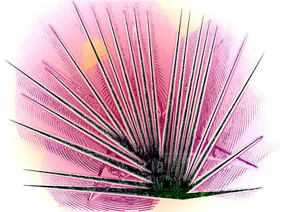 Fibers Art Print by Patrick Guidato