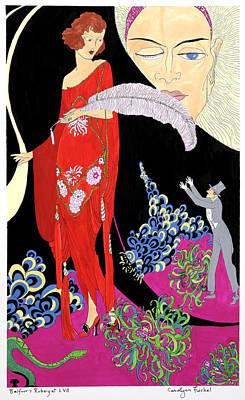 Rubaiyat Painting - Fickle by Carolynn Fischel