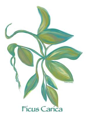 Painting - Ficus Carica by Christine Fournier