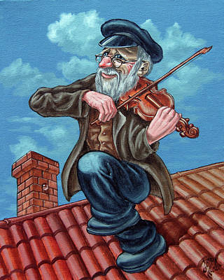 Fiddler On The Roof. Op2608 Art Print