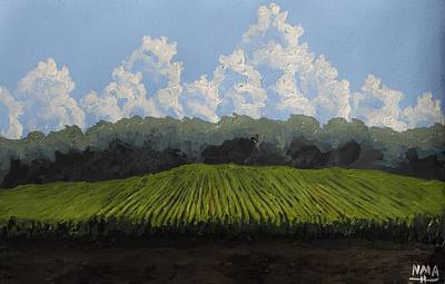 Food Paining Painting - Field And Sky by Noah Aukerman