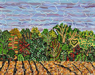 Field At Watkins Road Art Print by Micah Mullen