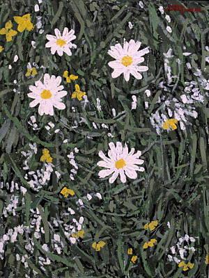 Painting - Field Daisies by Ian  MacDonald