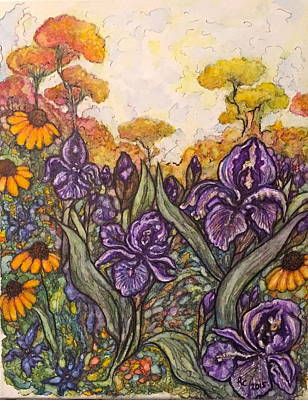Painting - Field Flowers #3 by Rae Chichilnitsky
