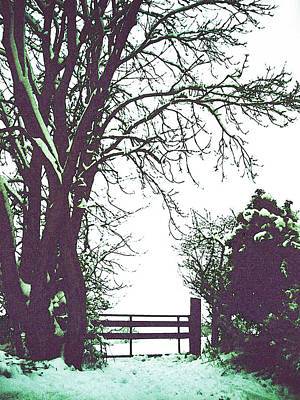 Photograph - Field Gate by Anne Kotan