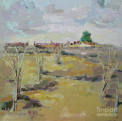 Painting - Field In Virginia by Becky Kim