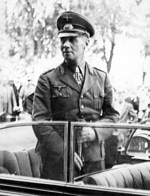 Field Marshal Erwin Rommel Reaches Art Print