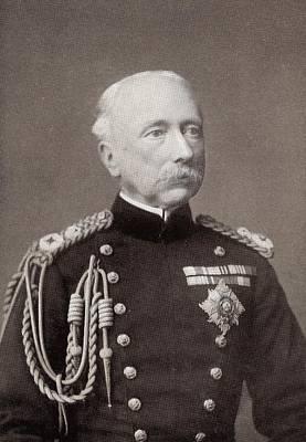 Field Marshal Garnet Joseph Wolseley Art Print by Vintage Design Pics