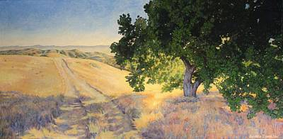 Painting - Field Oak by Andrew Danielsen
