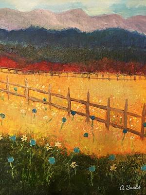Painting - Field Of Beauty by Anne Sands