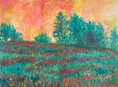 Painting - Field Of Beauty Stage One by Kendall Kessler