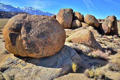 Photograph - Field Of Boulders In The Alabama Hills by Ray Mathis