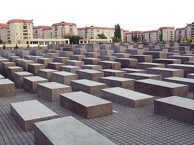 Photograph - Field Of Contemplation Jewish Memorial by Kevin Callahan