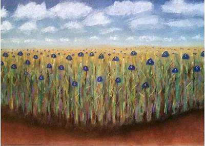 Painting - Field Of Dreams 2016 by Patricia Tierney