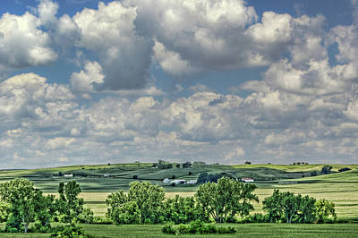 Photograph - Field Of Dreams - Iowa - Farm Country by Nikolyn McDonald