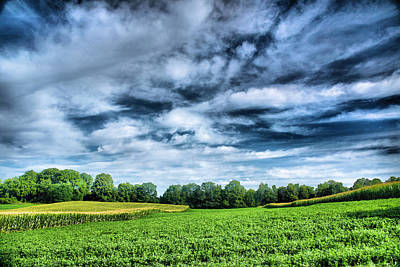 Finger Lakes Photograph - Field Of Dreams One by Steven Ainsworth