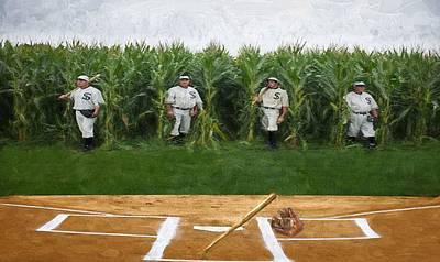 Dream Team Painting - Field Of Dreams by Pat Cook