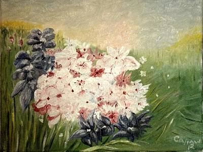Painting - Field Of Flowers by Charles Ray