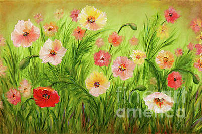 Painting - Field Of Flowers by Pati Pelz