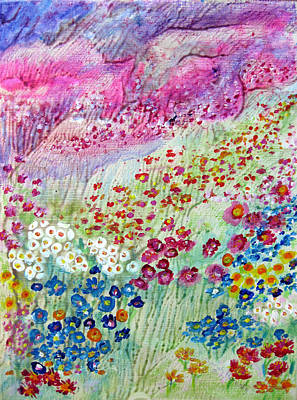 Painting - Field Of Flowers by Sarah Hornsby
