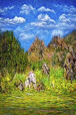 Digital Art - Field Of Sky by Joel Bruce Wallach