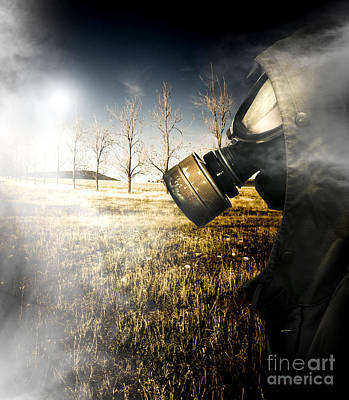 Sombre Photograph - Field Of Terror by Jorgo Photography - Wall Art Gallery