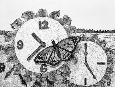 Field Of Time Art Print