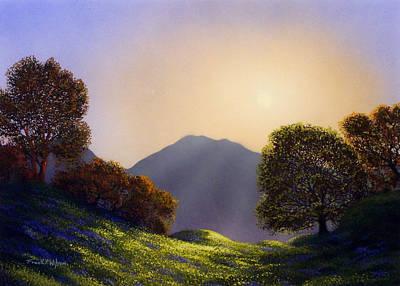 Painting - Field Of Wildflowers by Frank Wilson