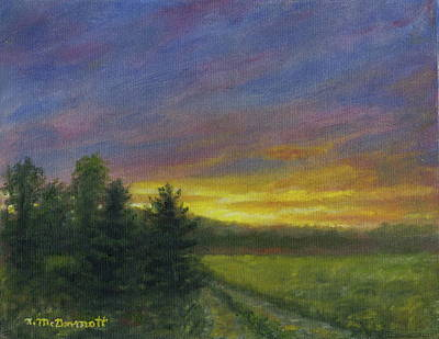 Painting - Field Road by Kathleen McDermott