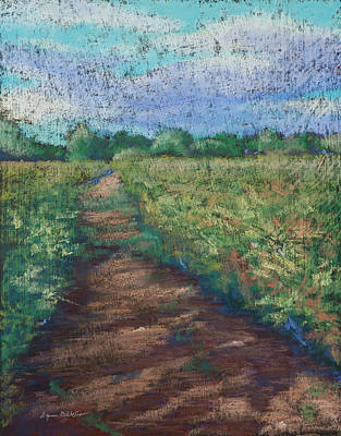 Painting - Field Shadows by Lynn Goldstein