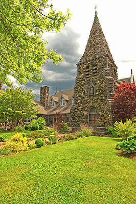 Photograph - Field Stone Church by Paul Mangold