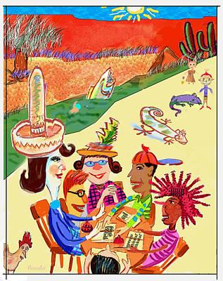 Field Trip Art Print by Annabel Lee