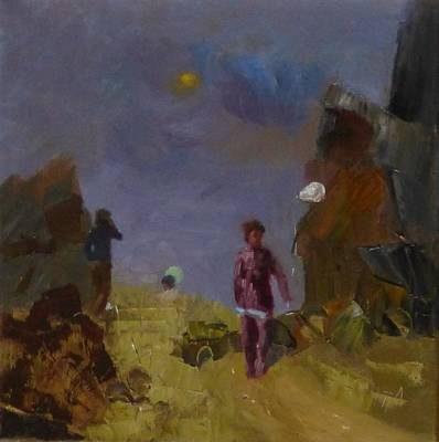 Painting - Field Trip With Balloons by Irena Jablonski