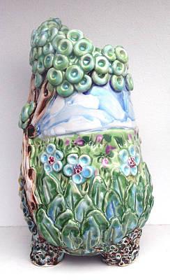 Field Vase Original by Renee Kilburn