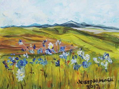 Painting - Field With Flowers by Joseph Mora
